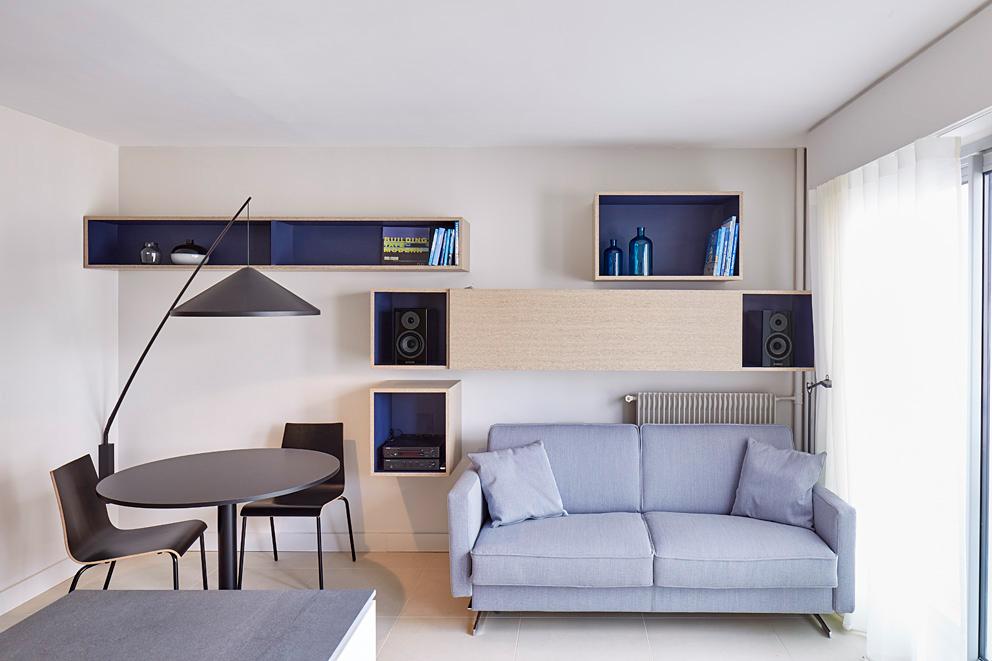 appartement rue des Orteaux, Paris 20eme